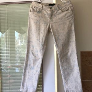 LRL Lauren Jeans Co. Light Jeans / floral design 4